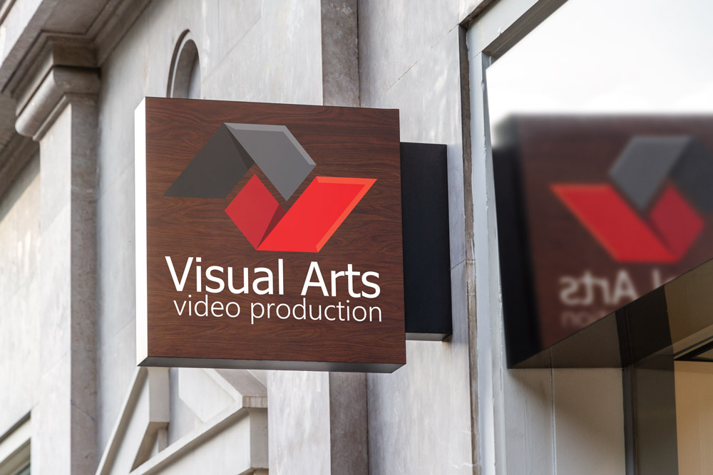 Visual-Arts-Logo-Design