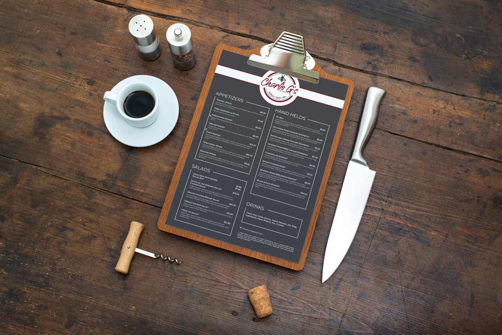 Charlie-G's-menu