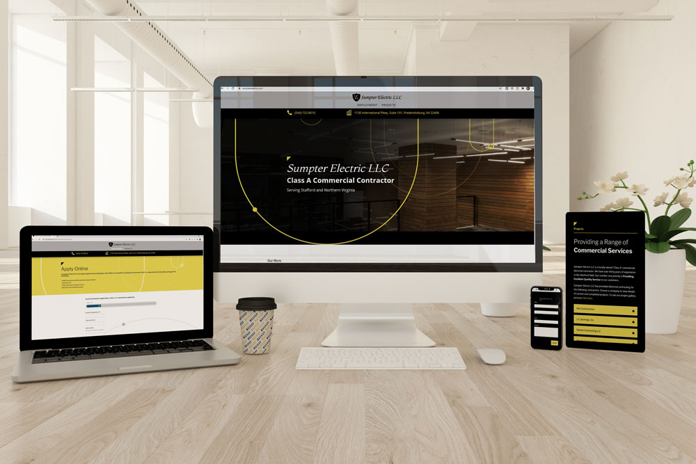 Sumpter Electric's New Website