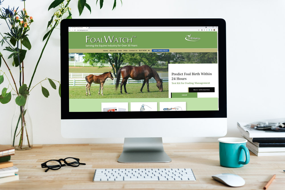 New Website for FoalWatch